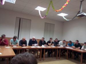 Zasedání zastupitelstva obce Vavřinec